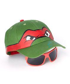 This TMNT Ralph Baseball Hat & Sunglasses by Teenage Mutant Ninja Turtles is perfect! #zulilyfinds
