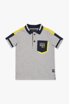 Polo shirt now at the C&A online shop – Fast delivery✓ Top quality✓ Great prices✓ Mens Polo T Shirts, Boys T Shirts, Tee Shirts, Polo Shirt Design, Polo Design, T Shirt Diy, T Shirts With Sayings, Shirt Style, Shirt Designs