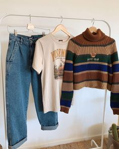Hippie Outfits, Retro Outfits, Cute Casual Outfits, Vintage Outfits, Teen Fashion, Fashion Outfits, Outfit Goals, Mode Inspiration, Look Cool