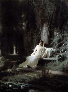 Ivan Kramskoy - Moonlit Night - 1880