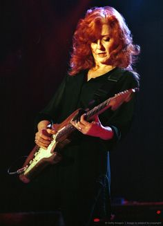 Bonnie Raitt (Solo blues & country vocalist & guitarist. Listed 50 on Rolling Stone's 100 Greatest Singers of All Time, & 89 on their 100 Greatest Guitarists. Winner of 10 Grammy awards, & inducted into the Rock & Roll Hall of Fame.)