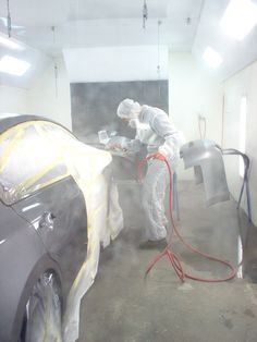 Action Shot! Mirror Image Automotive provides collision repair and mechanical maintenance under one roof!