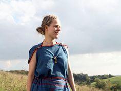 Land of Legend, Lejre, Denmark Reconstructed Iron Age dress (Lønne Hede)