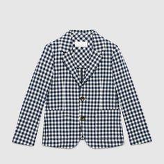 Blazer Gucci Boy months on YOOX. The best online selection of Blazer Gucci. Seersucker Jacket, Boy Fashion, Fashion Design, Boy Blue, Girls Shopping, Kids Boys, Blazer Jacket, Boy Outfits, Luxury Fashion