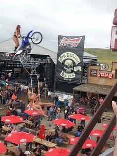 Acrobats at Full Throttle Saloon