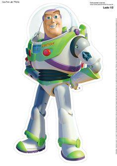 Centro de Mesa Toy Story Buzz Lightyear Parte 1