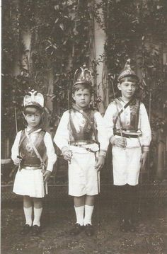 GD Xenia's sons Andrei , Nikita and Feodor - 1904. I don't think any of them were ever murdered by the 'communists'.
