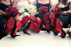 oh my word. must be nice!!  Louboutin wedding