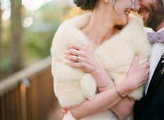 ideal client style:: vintage fur stoles