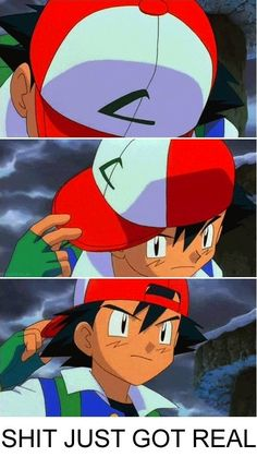 When someone talks crap online I like to go all Ash Ketchum on them, like this