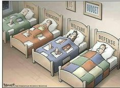 Ah, priorities. But no department will be covered if the hostages, I mean government, defaults. Posted by Sam at We Leave No One Behind. Thanks to Global Equality for the image. Cartoon Memes, Faith In Humanity, Political Cartoons, Sociology, Decoration, Feminism, Equality, Toddler Bed, Shit Happens