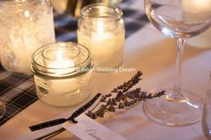 Name place card tied with lavender - Floral inspiration | Italian Wedding Dream