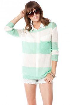 Honeydew Dreams Sweater