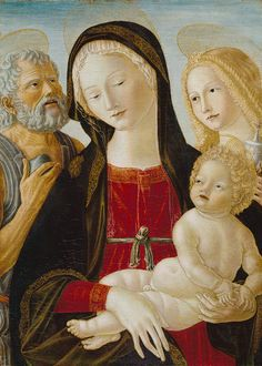 Neroccio de' Landi:  Madonna and Child with Saints Jerome and Mary Magdalene. The Metropolitan Museum of Art, New York