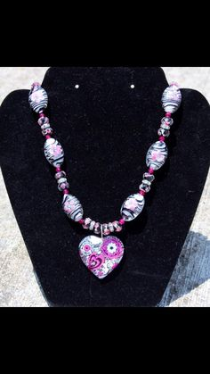 Zebra & Hot Pink w/Bling Accents! $50