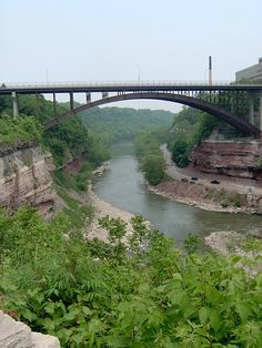 Genesee River in Rochester New York