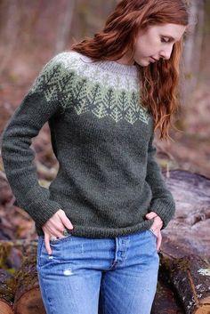 25 ideas crochet sweater girl pattern stitches for 2019 Fair Isle Knitting Patterns, Knitting Machine Patterns, Sweater Knitting Patterns, Easy Knitting, Knitting Stitches, Knitting Designs, Knitting Sweaters, Knitting Tutorials, Loom Knitting