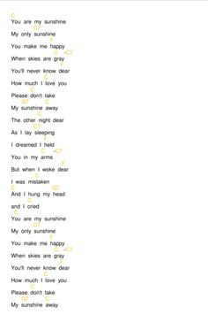 You Are My Sunshine Chords by Pine Ridge Boys (C, F). Learn how to play on ukulele. My only sunshine. You make me happy. Ukulele Chords Easy, Easy Chords Songs, Easy Ukelele Songs, Ukulele Songs Beginner, Guitar Tabs Songs, Music Chords, Ukulele Tabs, Piano Songs, Pentatonix