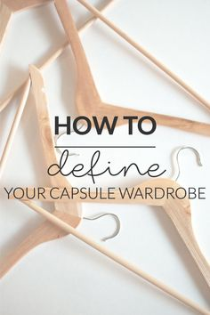 "How To Define Your Capsule Wardrobe | Cat On The Moon - ""A thoughtful style blog for a simple life."" (www.catonthemoon.xyz)"