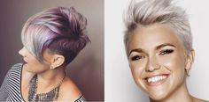 Cortos de pelo cortos con colores locos que crearán un nuevo look - Cortes de Pelo Mujer