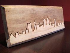 Boston Massachusetts Skyline  Little Rhody Crafts