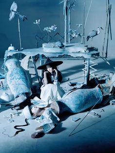 Vogue China December 2014 by Tim Walker | GRAVERAVENS