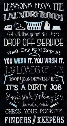 Laundry Lessons Quilt Kit