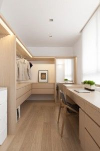 When you are thinking about redoing your home, one aspect that you should carefully consider redoing is the closet. The problem is you may not know the benefits of using the dream closets designs to Home Interior Design, Interior Architecture, Dressing Room Closet, Dressing Rooms, Muji Style, Muji Home, Walk In Closet Design, Closet Designs, Luxury Closet