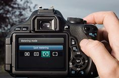 How to fix metering woes when photographing snow: step 1