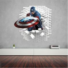 Captain America wall decal(sticker)