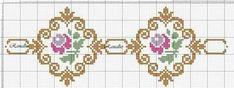 This Pin was discovered by ΕΛΕ Biscornu Cross Stitch, Cross Stitch Bookmarks, Mini Cross Stitch, Cross Stitch Borders, Cross Stitch Rose, Cross Stitch Flowers, Cross Stitch Designs, Cross Stitching, Cross Stitch Embroidery