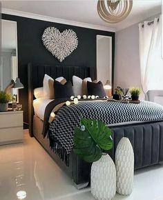 Home Decor Bedroom .Home Decor Bedroom Stylish Bedroom, Modern Bedroom, Minimalist Bedroom, Modern Minimalist, Modern Wall, Master Bedroom Design, Home Decor Bedroom, Bedroom Interiors, Bedroom Designs