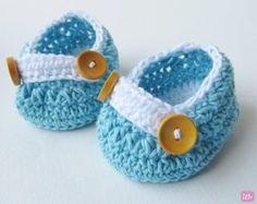 crochet-newborn-shoes