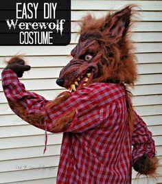 Boys werewolf costume boys werewolf costume werewolf costume easy diy werewolf costume solutioingenieria Choice Image