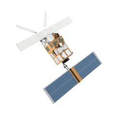 3D model satellite 4 - TurboSquid 1379604 Weather Satellite, Indian Space Research Organisation, Astronomy Science, Remote Sensing, 3ds Max Models, Hubble Space Telescope, Spacecraft, Game Design, Kid