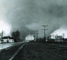 Palm Sunday tornado, April 11, 1965.