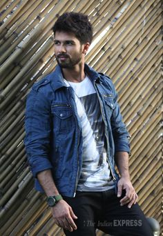 ShahidKapoor in a photoshoot for Screen