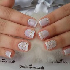 Best Nail Art Designs 2018 Every Girls Will Love These trendy Nails ideas would gain you amazing compliments. Check out our gallery for more ideas these are trendy this year. Best Nail Art Designs, Beautiful Nail Designs, Pretty Nail Art, Cool Nail Art, Spring Nail Art, Spring Nails, Hair And Nails, My Nails, Neutral Nails