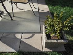 Expand Builder-Grade patio with 16x16 pavers (weekend diy project)