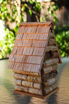Birdhouse Peak House by CarefullyCorked on Etsy