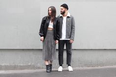 J'aime tout chez toi - French couple from Paris - Alice & js Girls Fashion Clothes, Fashion Couple, Fashion Outfits, Outfits For Teens, Cool Outfits, Summer Outfits, Style Photoshoot, Matching Couple Outfits, Fall Chic