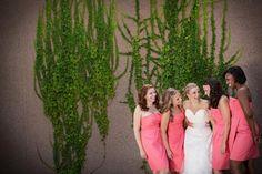 Bride + bridemaids | J.Crew dresses | Minnesota Bride magazine