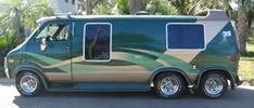 Customised Vans, Custom Vans, Vintage Rv, Vintage Trucks, General Motors, Land Rover Defender, Chevrolet Van, Dodge Van, Old School Vans