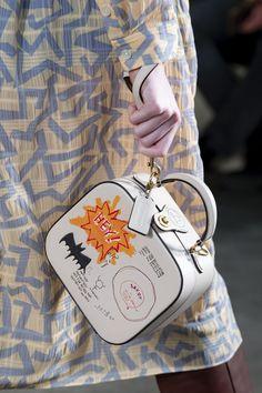 Apr 2020 - Coach 1941 at New York Fashion Week Fall 2020 - Details Runway Photos Coach Purses, Coach Bags, Suitcase Bag, Coach 1941, Art Bag, Fashion Bags, London Fashion, Fall Fashion, Luxury Bags