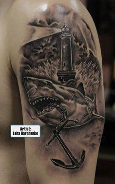 #shark #tattoo #tattoos #ideas #designs #men #formen #menstattooideas
