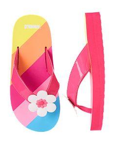 Flower Stripe Flip Flop Gymboree Find Summer swimwear and accessories at #ValleyWestMall