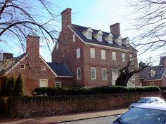 William Paca House on Prince George Street in Annapolis.