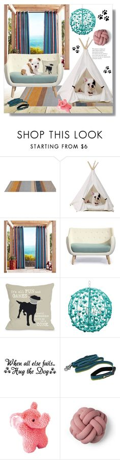 """Design a corner for your pet"" by freida-adams ❤ liked on Polyvore featuring interior, interiors, interior design, home, home decor, interior decorating, Pier 1 Imports, Parlor, B. Ella and Stray Dog Designs"