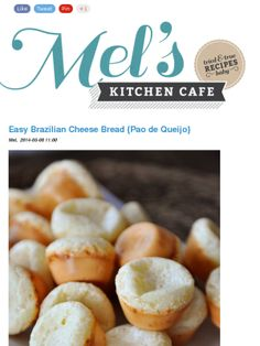 Brazilian cheese bread from Mels Kitchen Cafe! Yums.