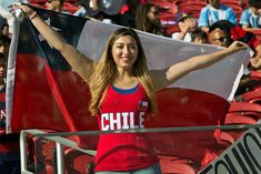Argentina v Chile: Group D - Copa America Centenario - Brian Bahr/STR/LatinContent/Getty Images/Getty Images Football Tops, International Football, Just Beauty, Sports Women, A Team, World Cup, Peace And Love, Chile, Fangirl